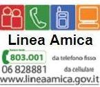 Logo iniziativa linea amica